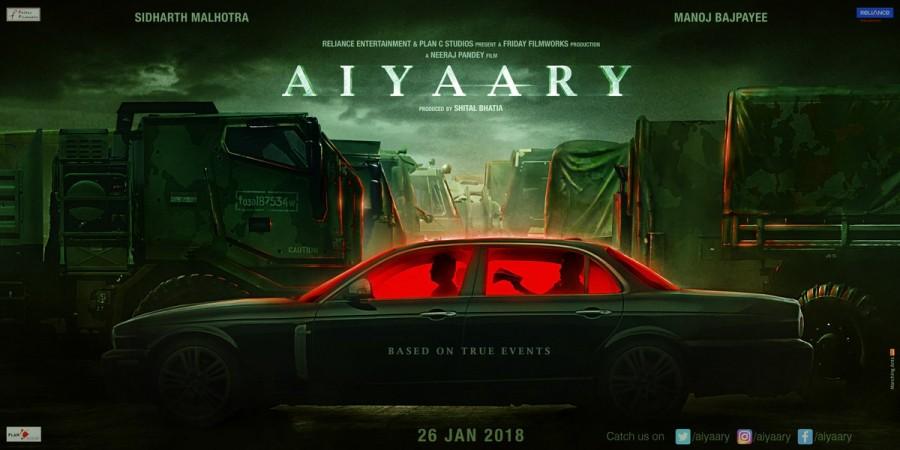 Aiyaary,Aiyaary first look,Aiyaary poster,Aiyaary movie poster,Vijay Diwas,Vijay Diwas 2017