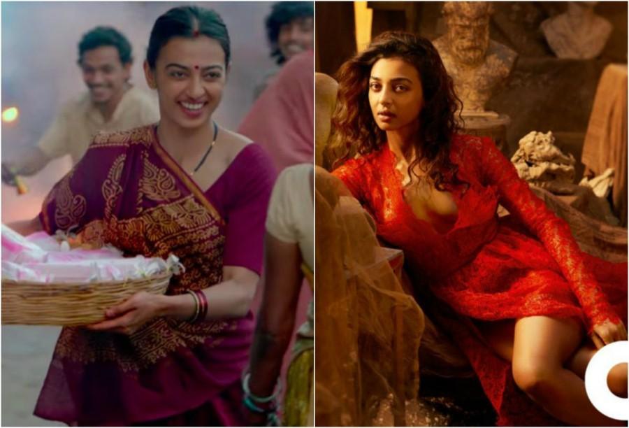 Padman star Radhika Apte,Radhika Apte,Radhika Apte in Padman,Padman,Radhika Apte hot look,Radhika Apte hot pics