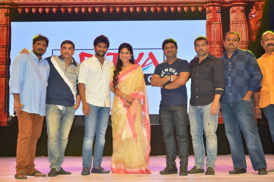 Nani,Sai Pallavi,Dil Raju,Devi Sri Prasad,MCA Pre Release event,MCA Pre Release,MCA audio launch,MCA music launch