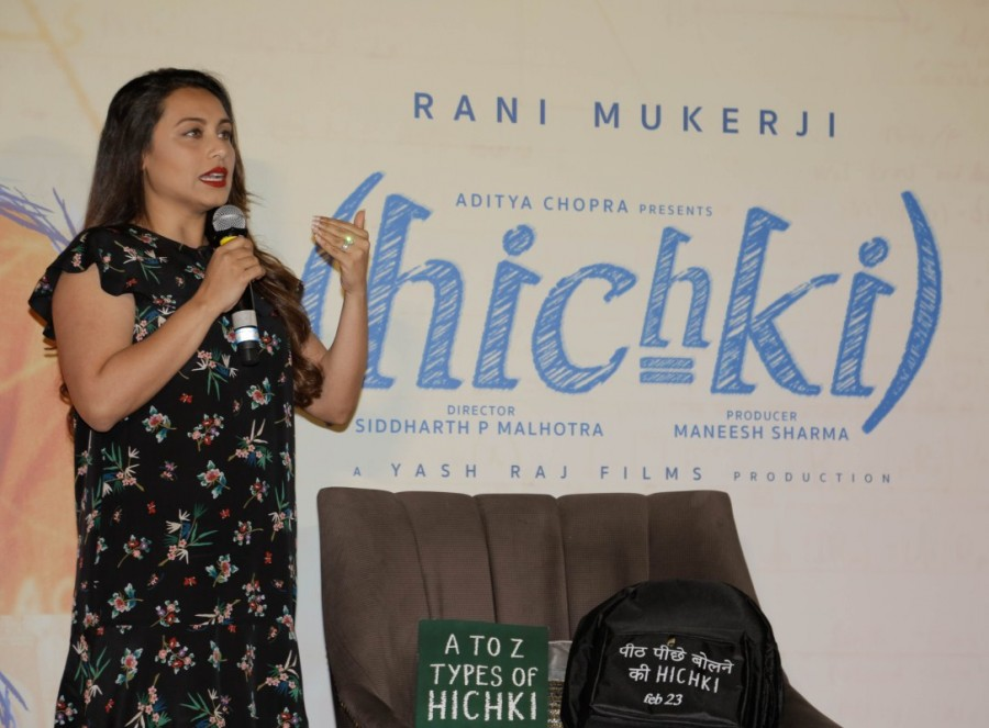 Rani Mukerji,Hichki Trailer launch,Hichki Trailer,Hichki Trailer launch pics,Hichki Trailer launch images,Hichki Trailer launch stills,Hichki Trailer launch pictures,Hichki Trailer launch photos