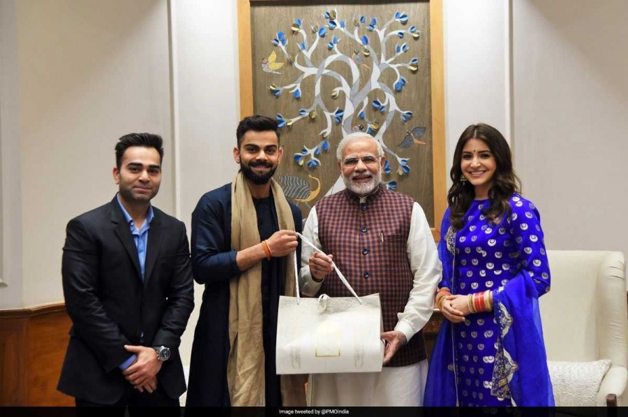 Virat Kohli,Anushka Sharma,Virat Kohli and Anushka Sharma,Virat Kohli Wedding Reception,Sharma Wedding Reception,Narendra Modi