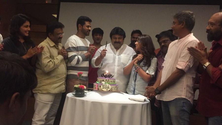Prabhu,Prabhu Deva,Nikki Galrani,Charlie Chaplin 2,Charlie Chaplin 2 sets,Prabhu celebrates birthday,actor Prabhu celebrates birthday