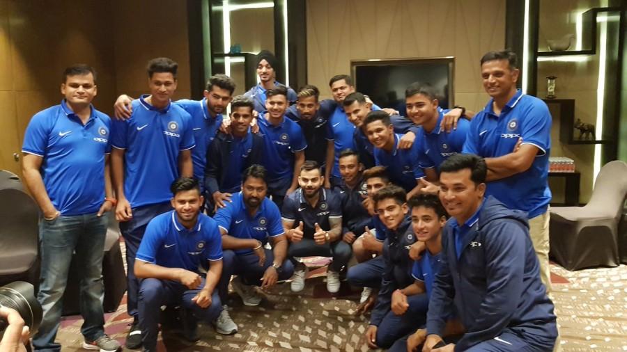 Virat Kohli,India captain Virat Kohli,Prithvi Shaw,U-19 World Cup