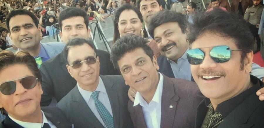 Shah Rukh Khan,Akkineni Nagarjuna,Prabhu,Shiva Rajkumar,Kalyan Jewellers Showroom,Kalyan Jewellers Showroom launch,SRK at Kalyan Jewellers Showroom,SRK inaugurate Kalyan Jewellers