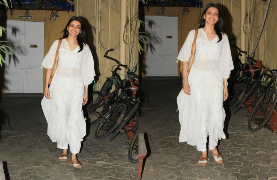 Kajal Aggarwal,actress Kajal Aggarwal,Kajal Aggarwal at Bandra