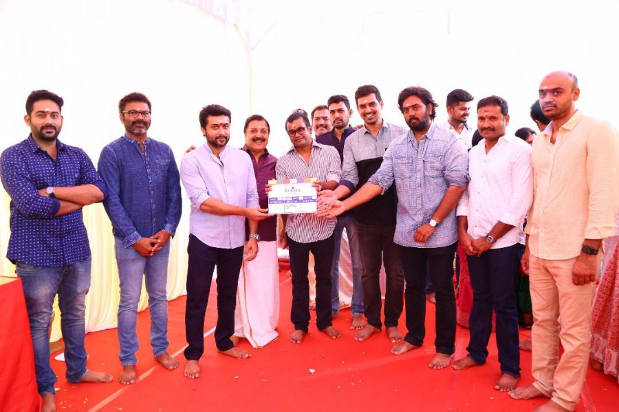 Suriya 36,Suriya,Selvaraghavan,Suriya 36 movie launch,Suriya 36 movie launch pics,Suriya 36 movie launch images,Suriya 36 movie launch stills,Suriya 36 movie launch pictures,Suriya 36 movie launch photos,Sai Pallavi,Suriya and Sai Pallavi