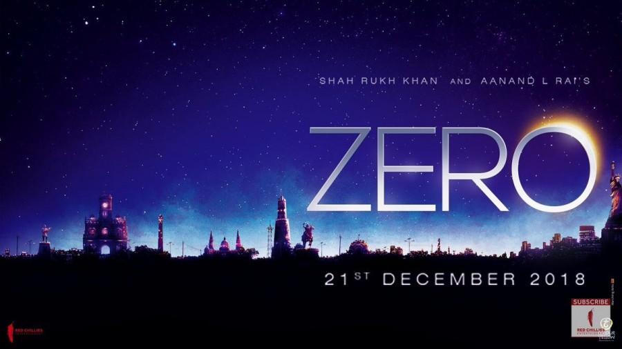 Zero first look poster,Zero first look,Zero movie poster,Zero poster,Shah Rukh Khan,Shah Rukh Khan in Zero,Shah Rukh Khan and Aanand L Rai,Shah Rukh Khan and Aanand L Rai film,Aanand L Rai film