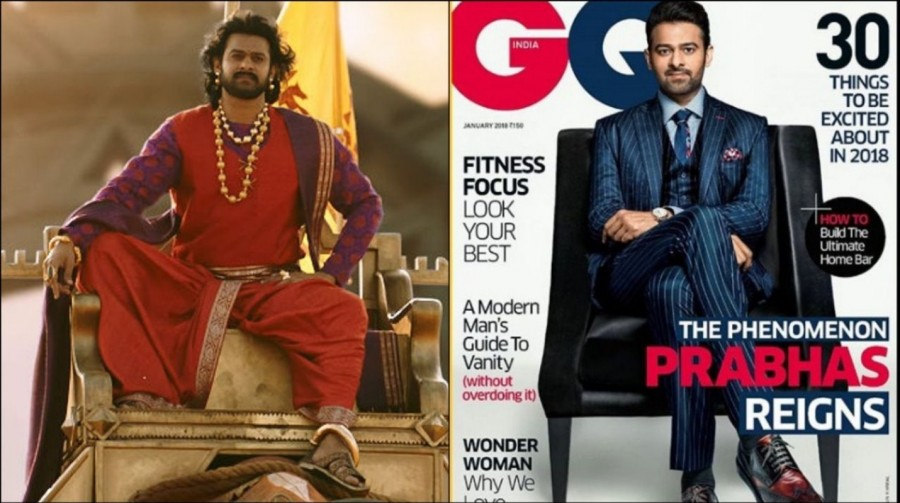 Prabhas,Baahubali star Prabhas,Baahubali pose,Prabhas on Magazine,Prabhas on GQ Magazine