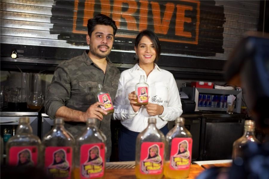 Richa Chadha,Fukrey Returns,Bholi Bhali Punjaban,Richa Chadha launches a cocktail