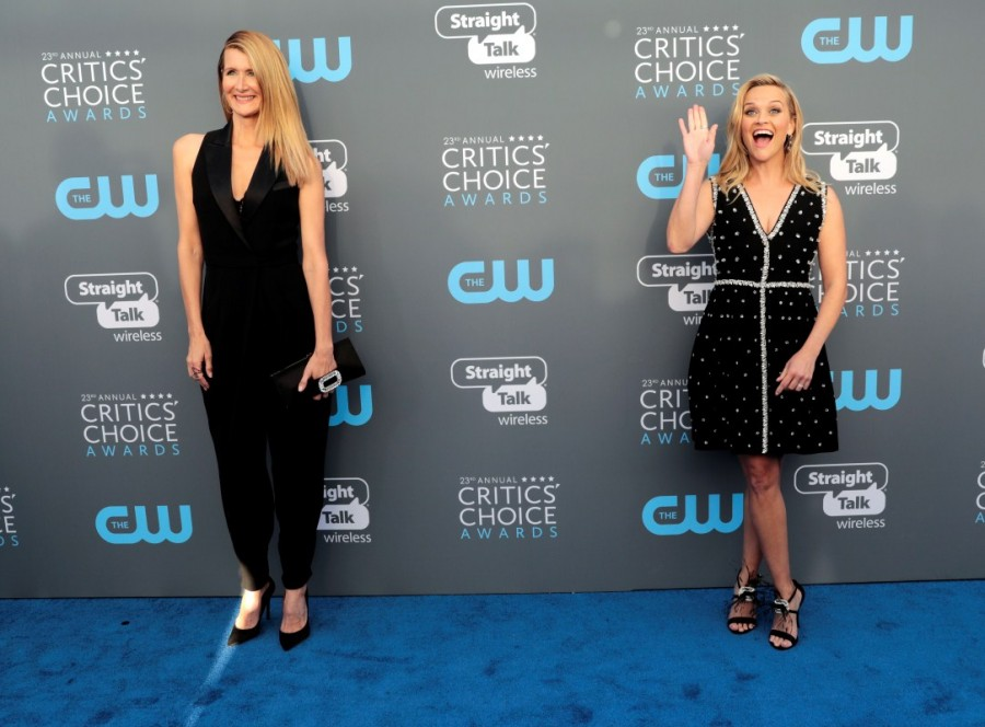 Laura Dern,Reese Witherspoon,Loung Ung,Angelina Jolie,Nick Jonas,Critics choice,Critics choice red carpet,Critics choice 2018,Celebs at  Critics choice,Celebs at  Critics choice red carpet