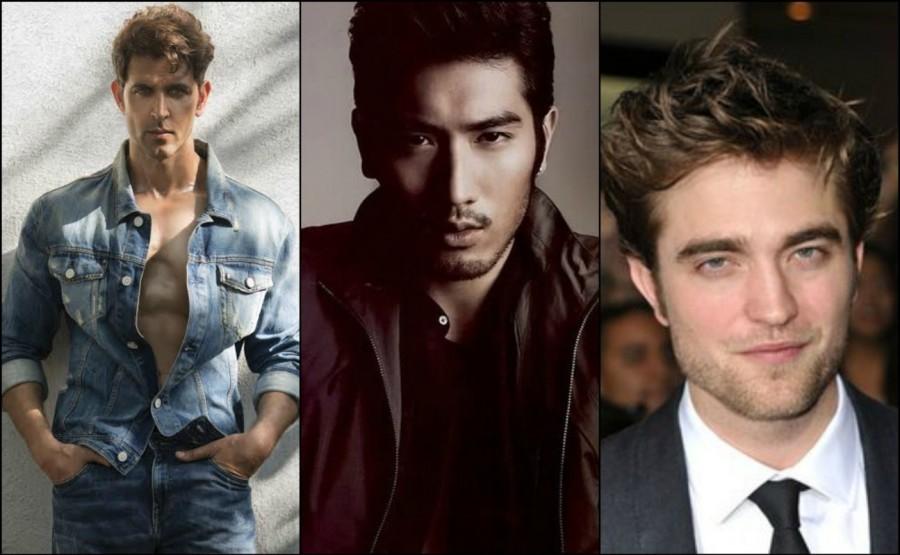 Hrithik Roshan,actor Hrithik Roshan,Hrithik Roshan beats Chris Evans,Chris Evans,Robert Pattinson,Hrithik Roshan most handsome actor
