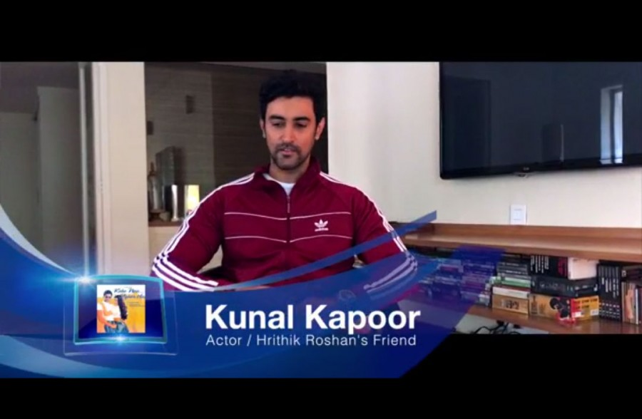 Kunal Kapoor,Hrithik Roshan,Kunal Kapoor and Hrithik Roshan,Kaho Na Pyar Hai