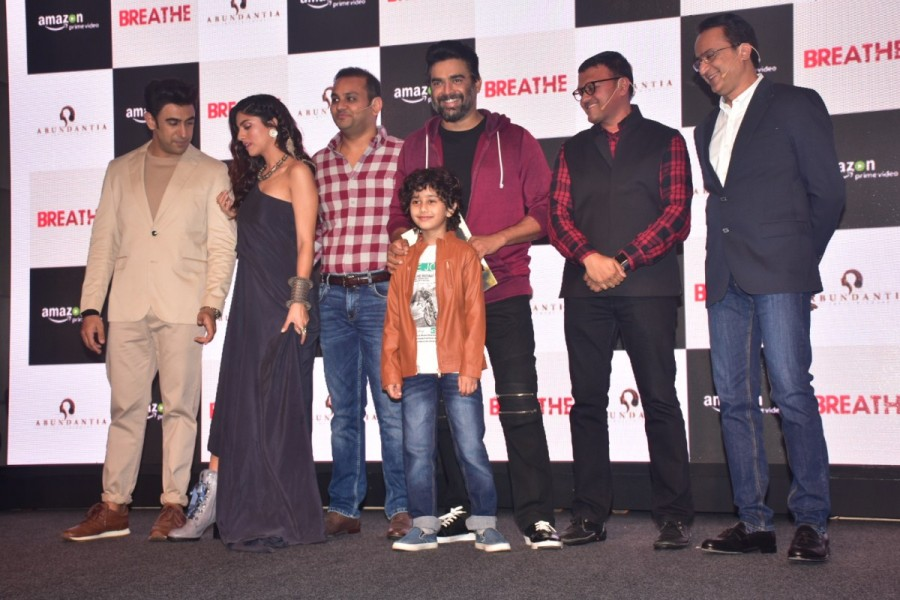 R Madhavan,actor R Madhavan,Amit Sadh,Sapna Pabbi,Breathe trailer,Breathe,Breathe movie trailer