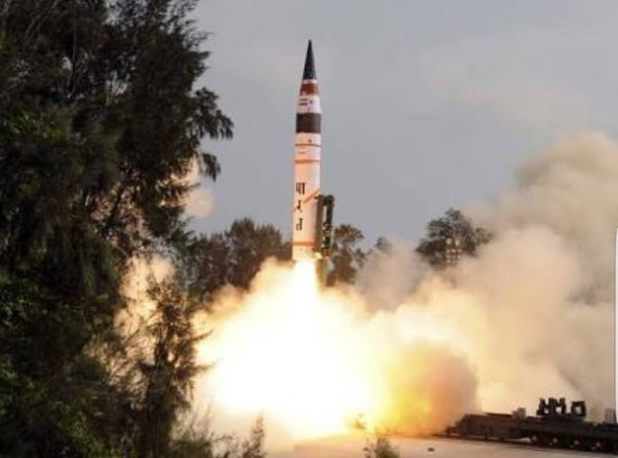 Agni-V,ICBM Agni-V,Agni-V successfully,Agni-V successfully test fired