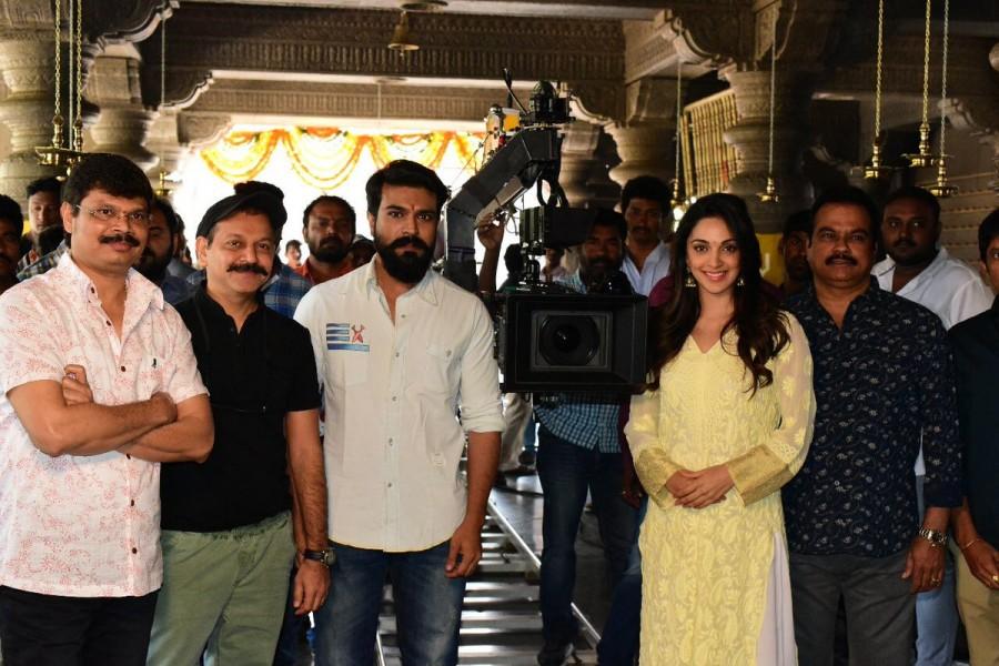Ram Charan,Boyapati Sreenu,RC12,RC 12,RC12 shoot begins,RC12 movie pooja,RC12 shooting