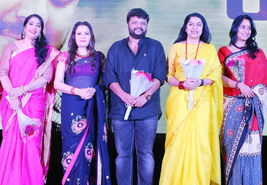 Jayaprada,Rekha,Anuhasan,Revathy,MA Nishad,Raja Mohamed,Pazhani Bharathi,M Jayachandran,R Parthiban,Parvathy Nambiar,Sajeev PK,Anne Sajeev,Suhasini,Keni audio launch,Keni audio launch pics,Keni audio launch images,Keni audio launch stills