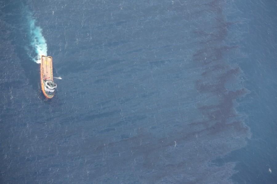 Oil spill,Oil spill in China,Oil spill in China sea,East China Sea