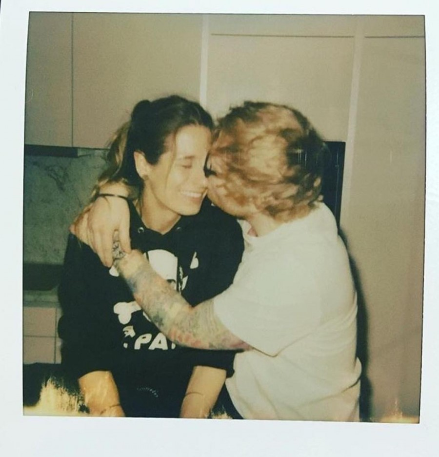Ed Sheeran,singer Ed Sheeran,Cherry Seaborn,Ed Sheeran  and Cherry Seaborn,model Cherry Seaborn,Ed Sheeran engagement