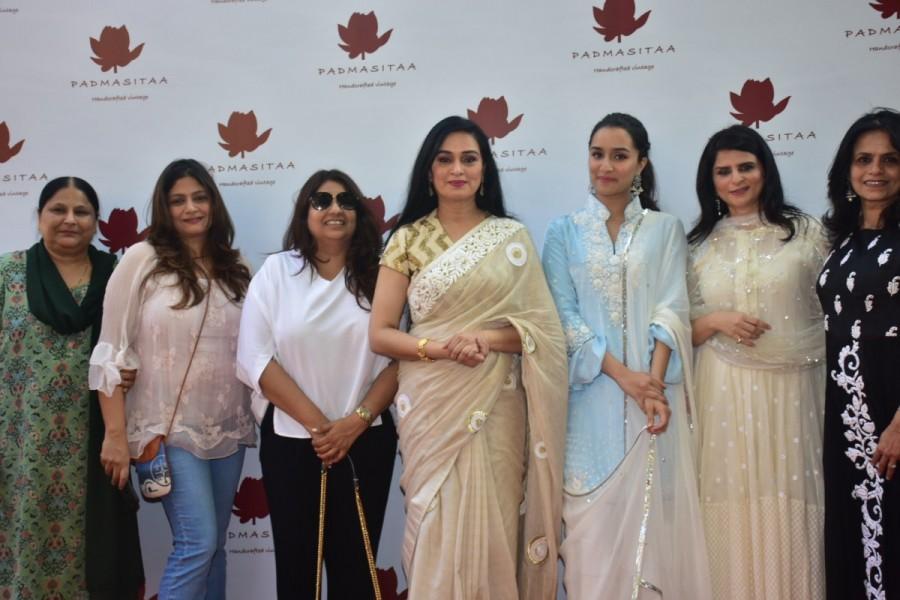 Shraddha Kapoor,Sonam Kapoor,Padmini Kolhapure,Padmini Kolhapure's PadmaSitaa
