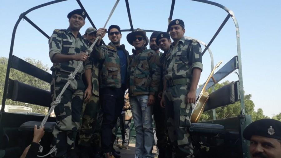 Aiyaary team,Aiyaary,Neeraj Pandey,Republic Day,BSF jawans,Manoj Bajpayee,Sidharth Malhotra,Rakul Preet Singh