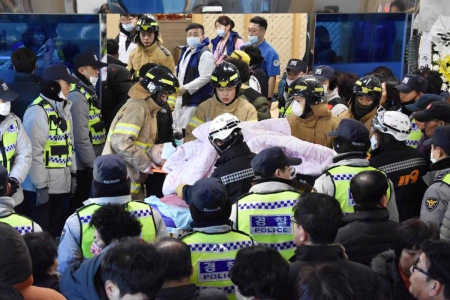 South Korea hospital fire,Deadly hospital fire,hospital fire in South Korea,South Korea,Miryang