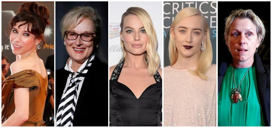 Oscar Nominations 2018,Oscar Nominations,90th Academy Awards,Oscar Nominations 2018 in pics,Oscar,Oscar 2018,Sally Hawkins,Meryl Streep,Margot Robbie,Saoirse Ronan