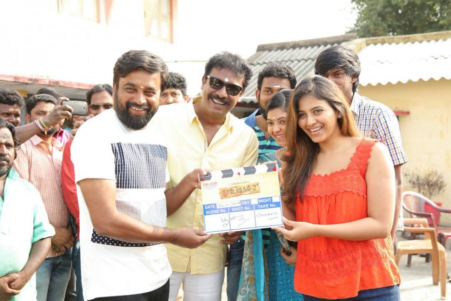 Nadodigal 2 movie launch,Nadodigal 2,Nadodigal 2 movie pooja,Sasikumar,Samuthirakani,Anjali,Athulya Ravi,Nadodigal 2 movie launch pics,Nadodigal 2 movie launch images,Nadodigal 2 movie launch stills,Nadodigal 2 movie launch pictures,Nadodigal 2 movie laun