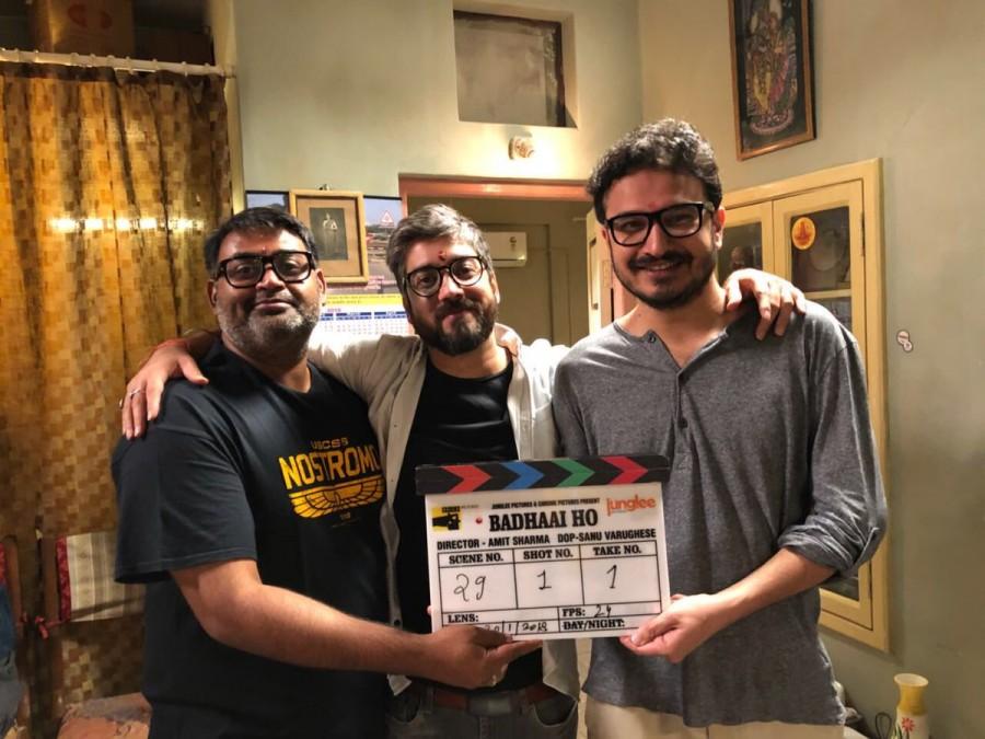Ayushmann Khurrana,Sanya Malhotra,Amit Sharma,Badhaai Ho,Badhaai Ho shoot begins,Dangal,Dangal actress,Dangal actress Sanya Malhotra