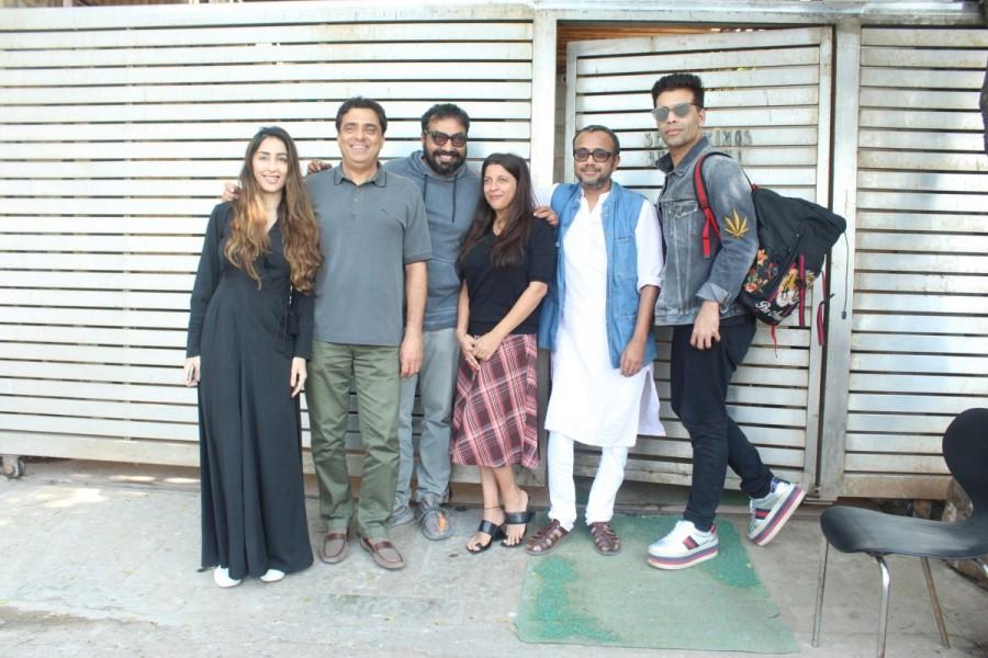 Ronnie Screwvala,Ashi Dua,Zoya Akhtar,Karan Johar,Anurag Kashyap,Dibakar Banerjee,Love & Lust