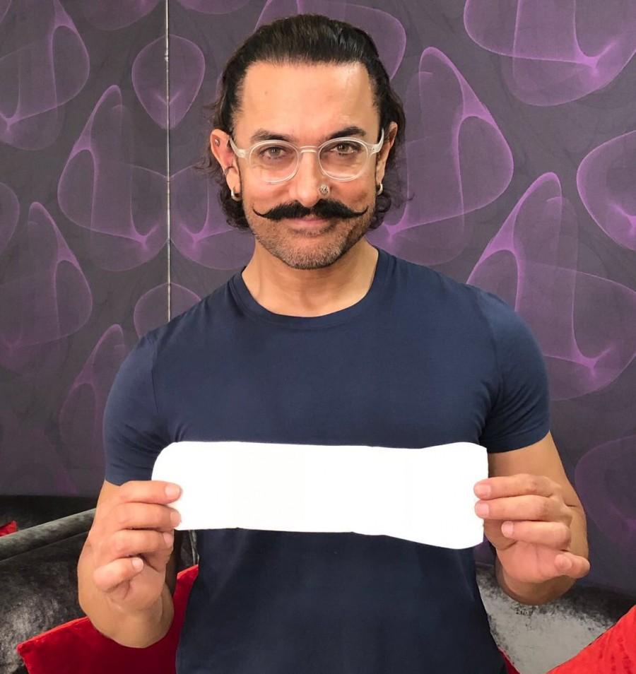 Aamir Khan,Akshay Kumar,Sonam Kapoor,Radhika Apte,Alia Bhatt,PadMan challenge,PadMan,PadMan promotion,sanitary pad