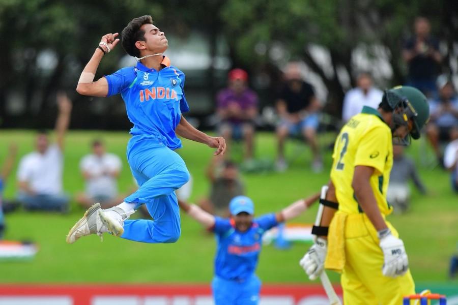 India restrict Australia,India vs Australia,ICC U-19 World Cup Final,U-19 World Cup Final,Ind vs Aus