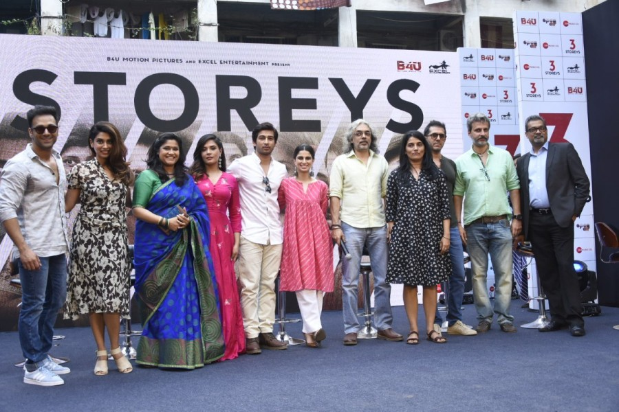 Pulkit Samrat,Richa Chadha,Ritesh Sidhwani,Priya Shreedharan,3 Storeys trailer,3 Storeys trailer launch,3 Storeys trailer launch pics,3 Storeys trailer launch images,3 Storeys trailer launch stills,3 Storeys trailer launch pictures,3 Storeys trailer launc