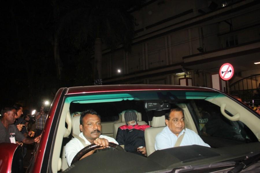 Amitabh Bachchan,actor Amitabh Bachchan,Amitabh Bachchan at Nanavati Hospital