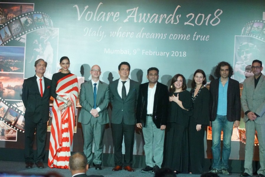 Deepika Padukone,AR Rahman,Imtiaz Ali,Volare Awards 2018,Volare Awards,celebs at Volare Awards