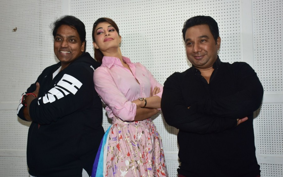 Jacqueline Fernandez,actress Jacqueline Fernandez,Ek do Teen,Ek do Teen wraps up,Madhuri Dixit