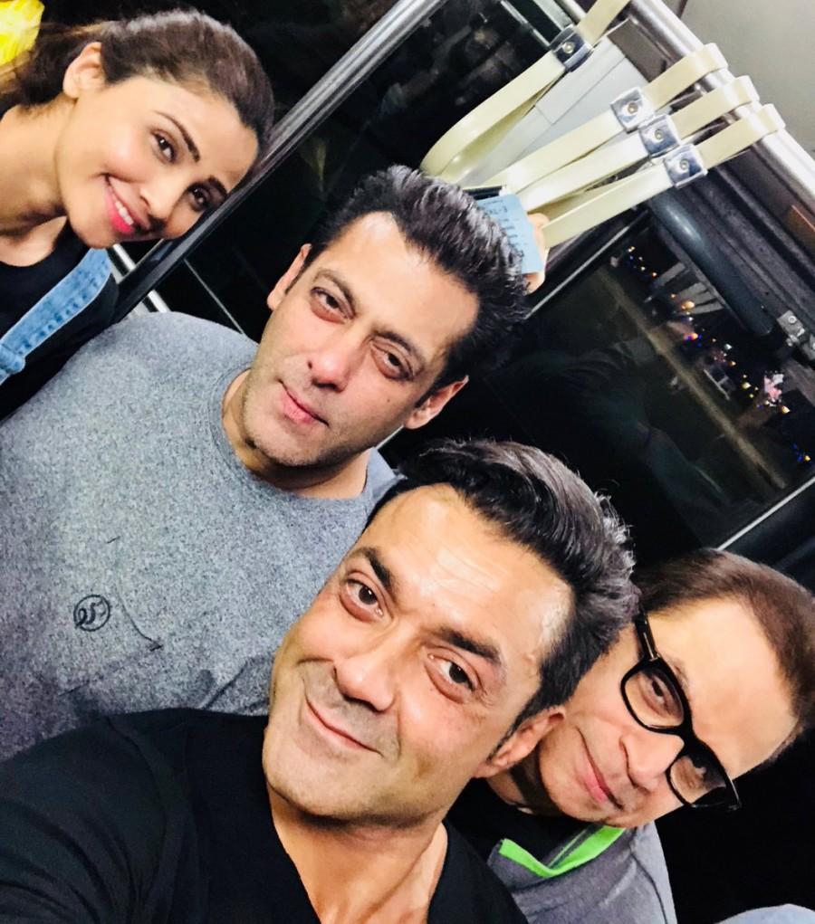 Salman Khan,Bobby Deol,Daisy Shah,Race 3,Race 3 shooting,Race 3 movie shooting,Race 3 shooting in Bangkok,Race 3 in Bangkok,Salman Khan in Bangkok