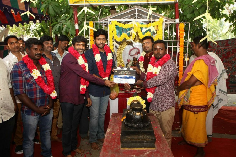 Vikram Prabhu,Mohan Raja,Asura Guru movie pooja,Asura Guru movie launch,Asura Guru pooja,Asura Guru launch,new tamil movie,new tamil movie launch,Rajdeep,Jagan,Kabilan Vairamuthu