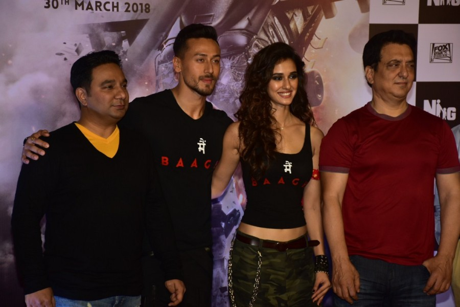 Sajid Nadiadwala,Baaghi 2,Baaghi 2 trailer,Baaghi 2 trailer launch,Baaghi 2 movie trailer launch,Tiger Shroff,Disha Patani,Bollywood movie,Bollywood new trailer,Bollywood trailer
