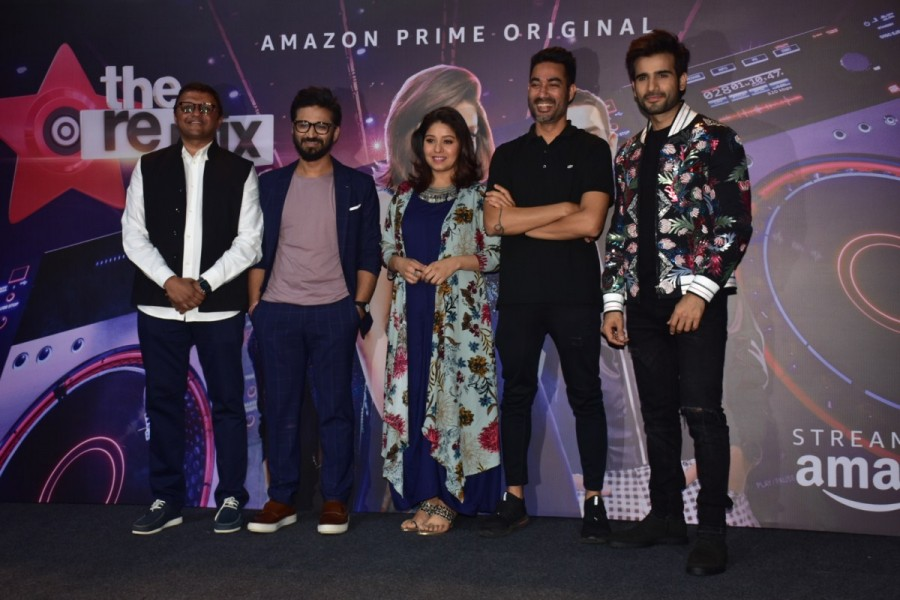 Karan Tacker,Amit Trivedi,Sunidhi Chauhan,Nucleya,The Remix,The Remix trailer launch,The Remix trailer,The Remix trailer launch pics,The Remix trailer launch images,The Remix wallpaper