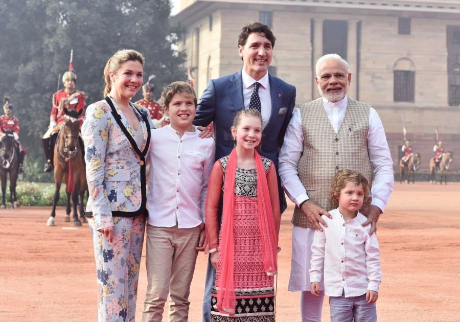 Narendra Modi,PM Narendra Modi,Justin Trudeau,Canadian Prime Minister Justin Trudeau,Justin Trudeau with Modi