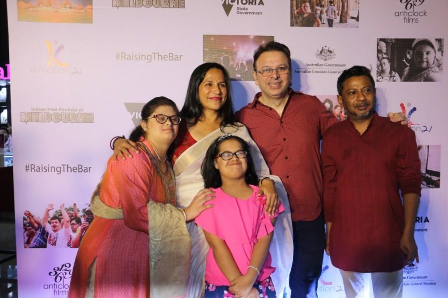 Tanishtha Chaterjee,Shreyas Tapade,Rasika Dugal,Sohail Khan,Sanjay Suri,Nidhi Singh,Isha Talwar,Raising The Bar,Raising The Bar special screening