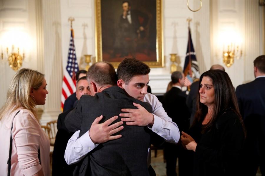 President Donald Trump,Donald Trump,Donald Trump meets Florida school survivors,Florida school survivors,Florida school shooting survivors