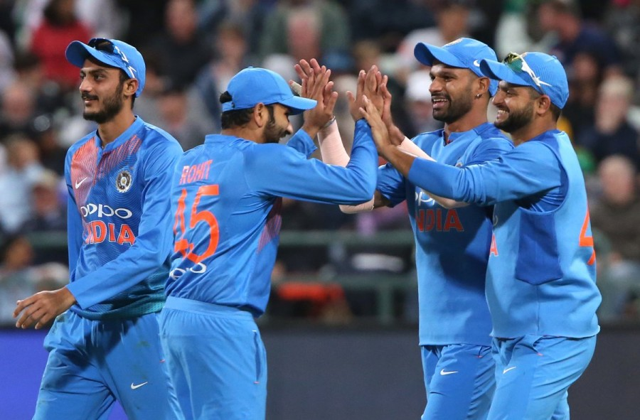 India vs South Africa,India beats South Africa,India trash South Africa,Shikhar Dhawan,Chris Morris