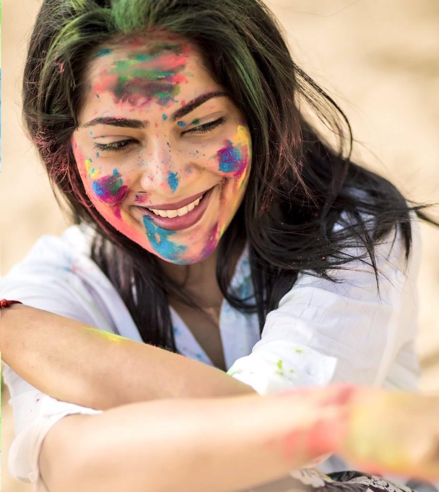 Ramya Subramanian,actress Ramya Subramanian,Ramya Subramanian pics,Ramya Subramanian images,Ramya Subramanian celebrates Holi,Ramya Subramanian Holi,Happy Holi 2018,Holi 2018,Holi celebrations