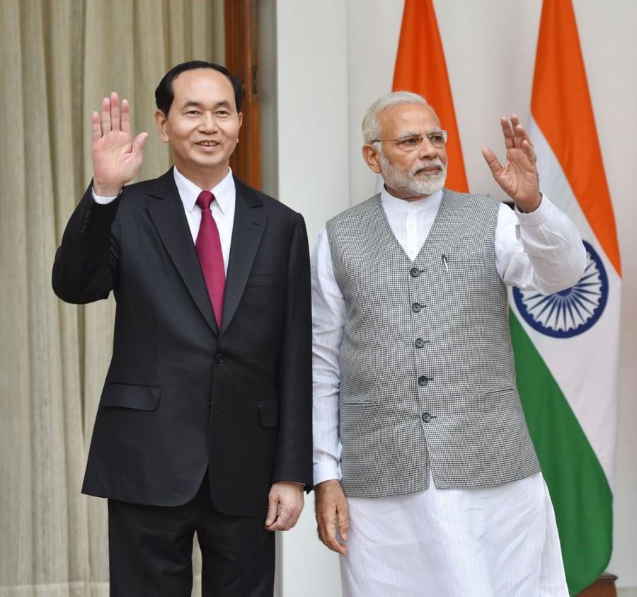Narendra Modi,Prime Minister Narendra Modi,PM Narendra Modi,Vietnam President Tran Dai Quang,Tran Dai Quang