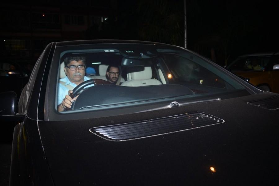 Aamir Khan,Kangana Ranaut,Aamir Khan at Sridevi house,Kangana Ranaut at Sridevi house,sridevi,sridevi death