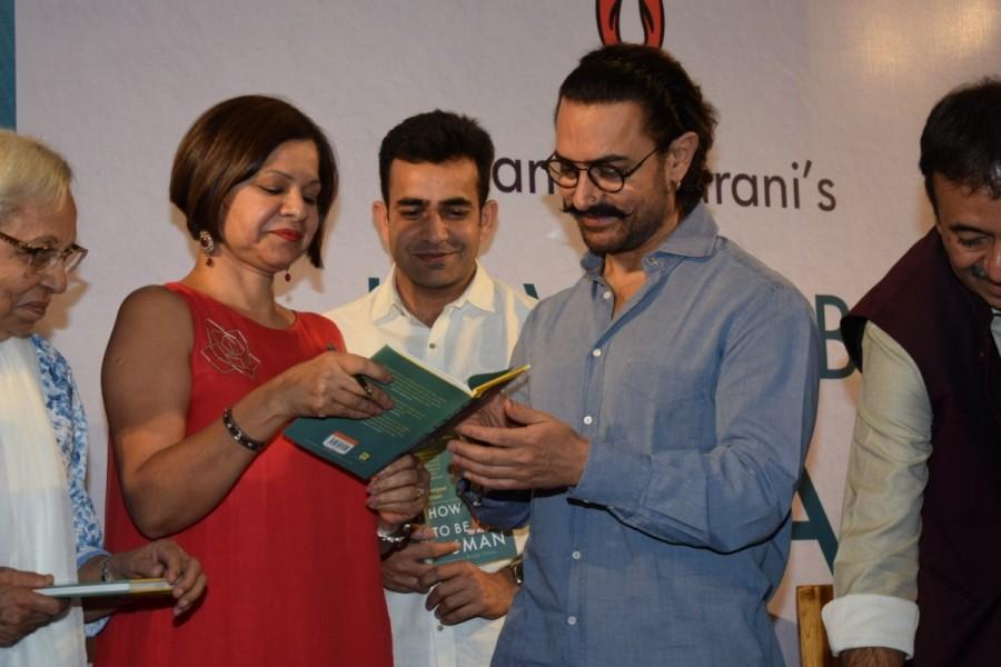 Aamir Khan,actor Aamir Khan,Manjeet Hirani,Manjeet Hirani book,Rajkumar Hirani,How To Be Human - Life Lessons by Buddy Hirani
