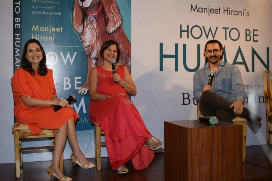 Aamir Khan,actor Aamir Khan,Manjeet Hirani,Manjeet Hirani book,Rajkumar Hirani,How To Be Human - Life Lessons by Buddy Hirani