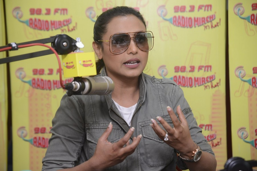 Rani Mukerji,actress Rani Mukerji,Rani Mukerji promotes Hichki,Hichki,Hichki promotion,Hichki movie promotion,Hichki movie,Hichki wallpaper,Hichki poster