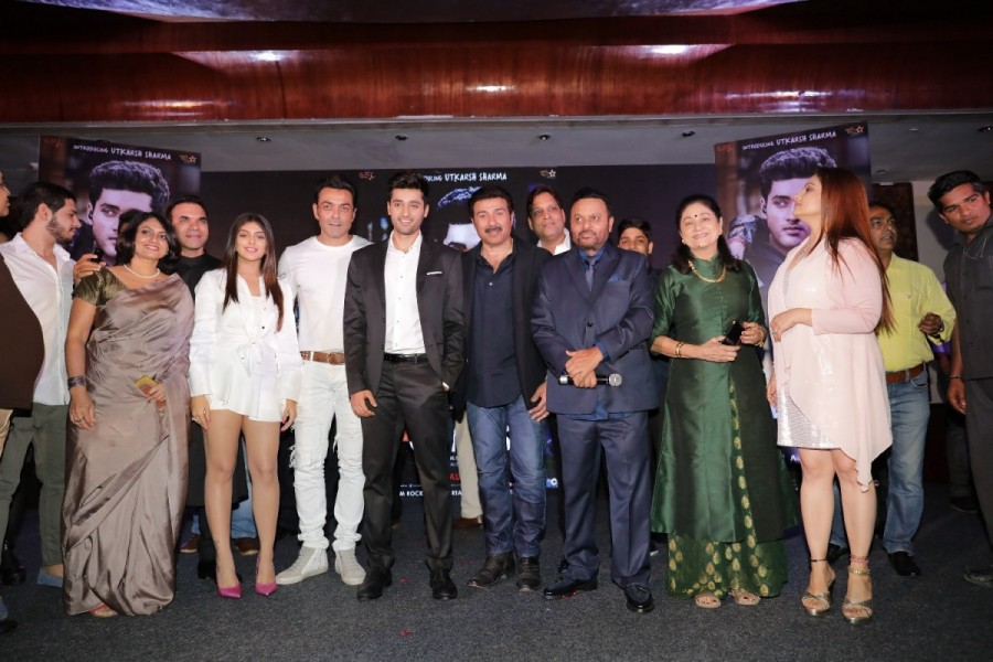 Genius wrap-up party,Genius,Genius wrap-up,Bobby Deol,Himesh Reshammiya,Anil Sharma,Ishita,Genius wrap-up party pics,Genius wrap-up party images